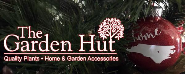 Garden Hut holiday Christams banner