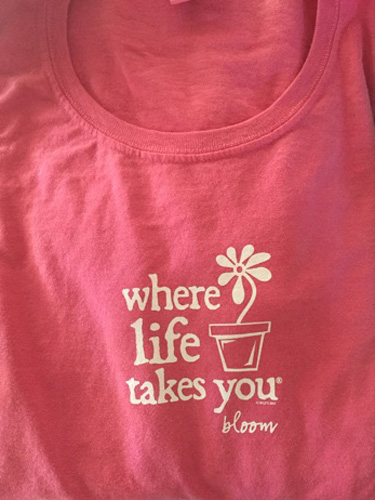 Where Life Takes You tshirts with fun topics like dogs, beach and flowers