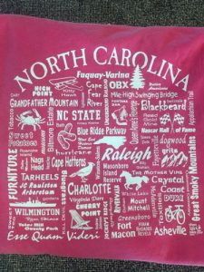 short and long sleeved tshirts nc