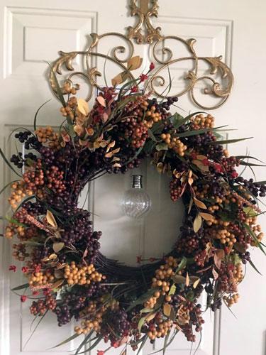 wreath decoration