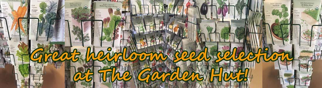 Organic heirloom seeds veggies_ flowers_ herbs