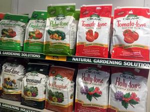 Plant-tone and Tomato-tone fertilizers