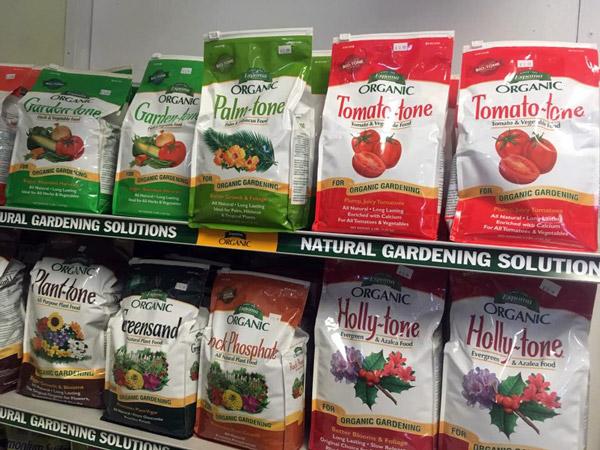 Espoma fertilizers and soil amendments