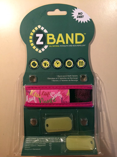 mosquito bug repellent z band all natural essential oils