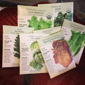 organic heirloom vegetable seeds flowers