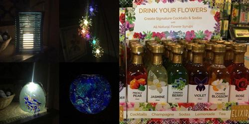 Solar lights flower elixirs
