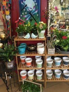pottery garden accessories plants