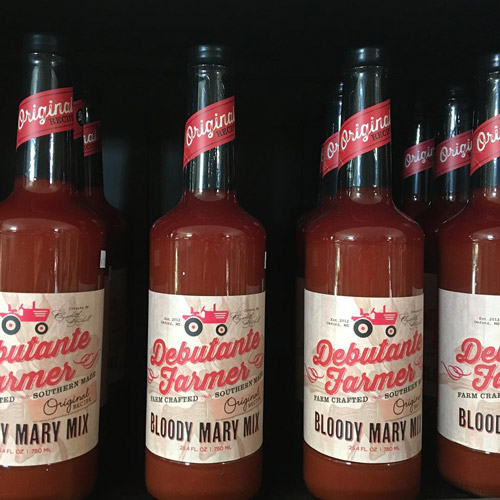 Debutante Farmer bloody mary mix local food
