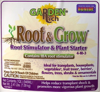 bonide root & grow root stimulator label