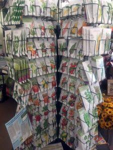 heirloom vegetable and flower seeds