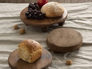 hand-carved, food safe tableware made from found wood from J.C. and Rollie