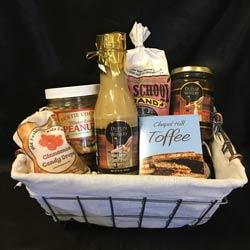 nice local food gift basket