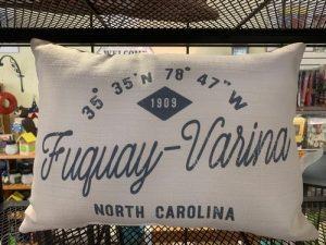 Fuquay Varina NC indoor outdoor pillow